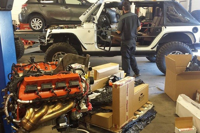 Swapping Hellcat V8s Into Jeep Wranglers