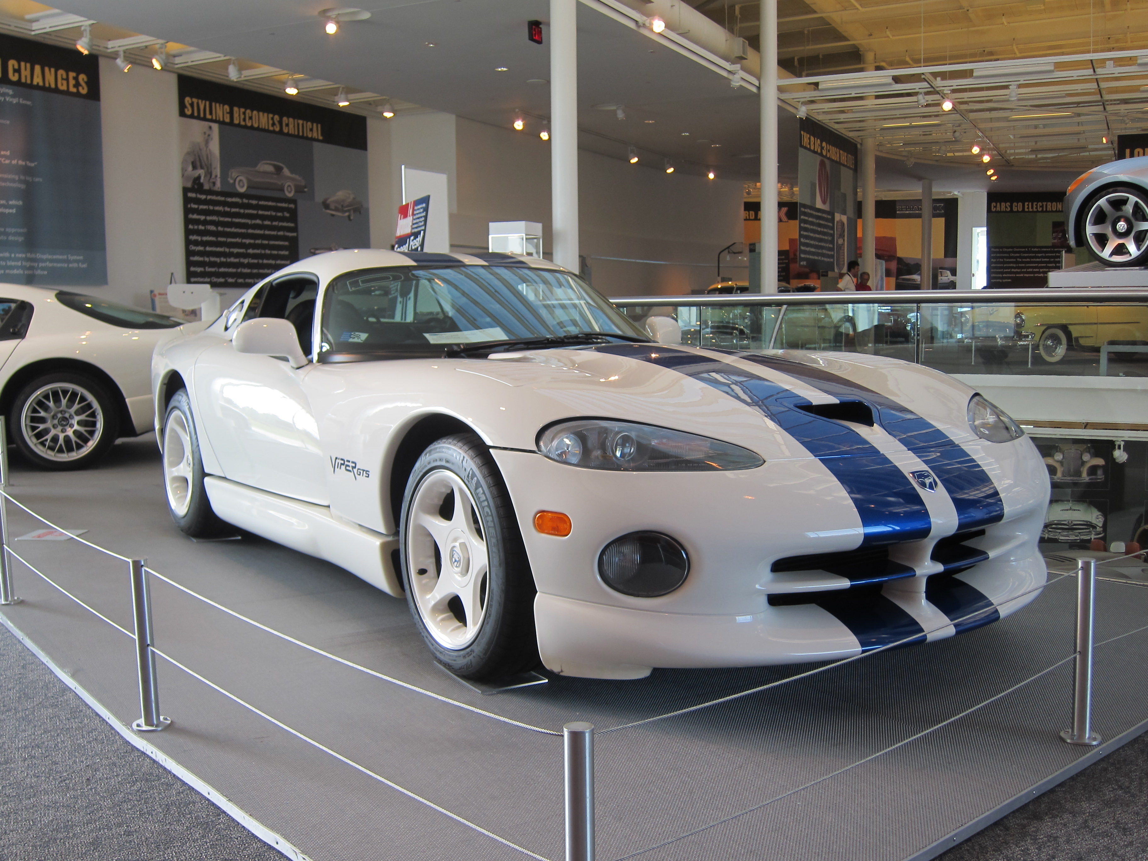 96 gts stone white with blue stripes only 3 were made