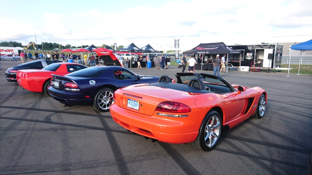 M1 Concourse Michigan - Cars and Coffee