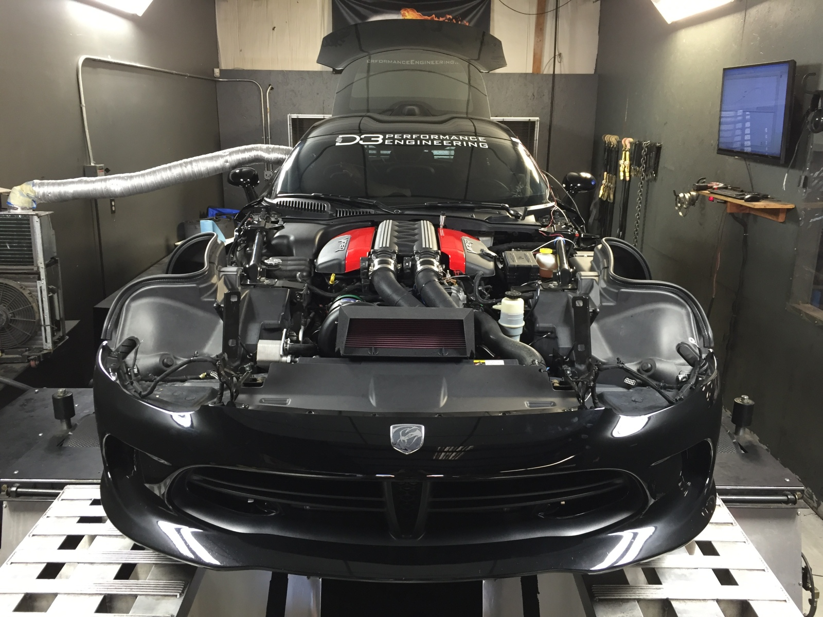 d3pe f1x supercharger system